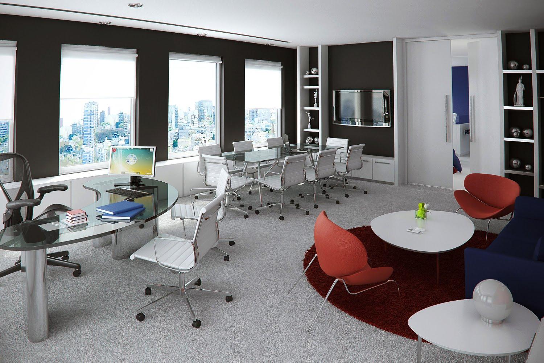 3d1 interior oficinas buenos aires argentina for Oficinas cam