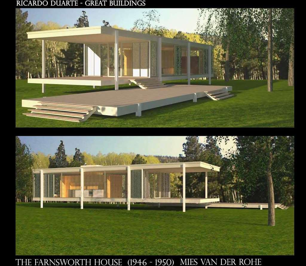 Farnsworth House - Ludwig Mies van der Rohe [1945-51]