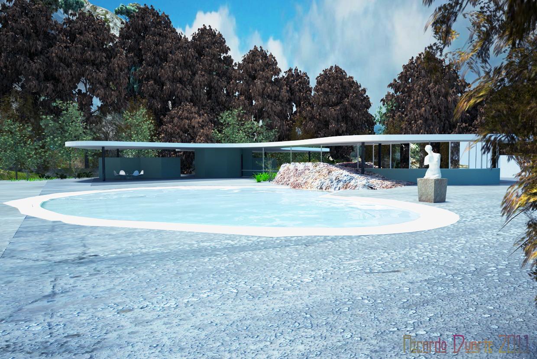 Casa das Canoas - Oscar Niemeyer [1953]