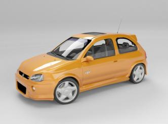 meu Chevrolet Corsa OPC
