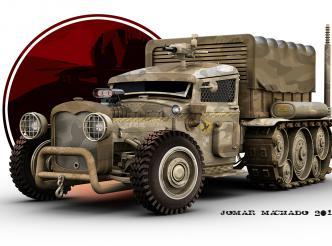 Arrakis Amored Car 2050