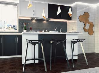 Área Gourmet - SketchUp + V-ray
