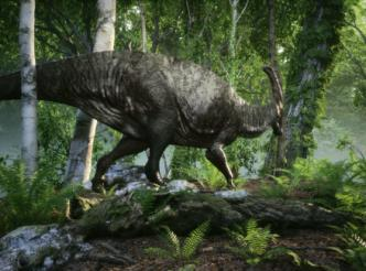 Parasaurolophus 3D