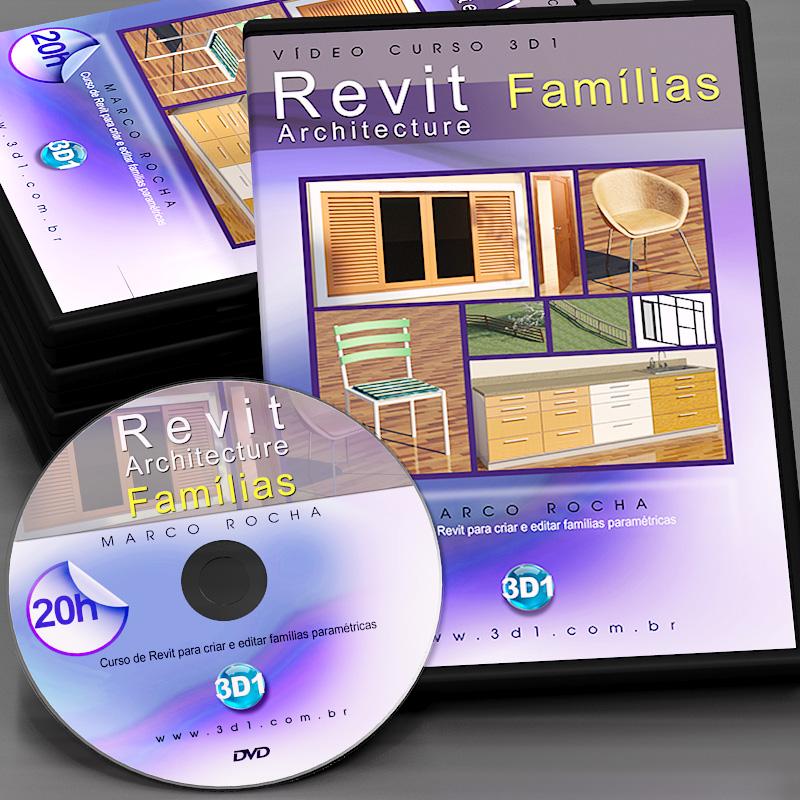 Vídeo Curso Revit Architecture Famílias