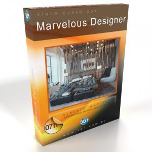 Vídeo Curso de Marvelous Designer 8