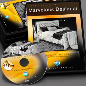 Vídeo Curso de Marvelous Designer