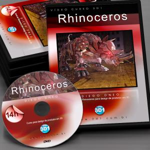 Vídeo Curso Rhinoceros 3D1