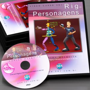 Vídeo Curso Rig de Personagens