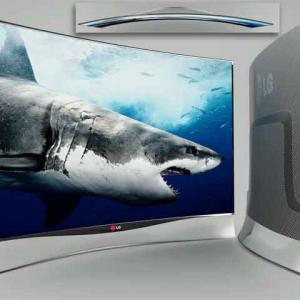 Smart Tv LG-Oled Curva 55EA9800