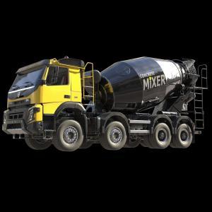 Caminhão personalizado Volvo FMX